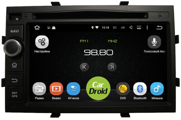 Штатная магнитола Roximo CarDroid RD-1302 для Chevrolet Cobalt (Android 6.0) - фото 10357