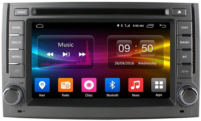 CarMedia OL-6782 для Hyundai H1 Grand Starex 2007-2015 на Android  6.0 - фото 10668