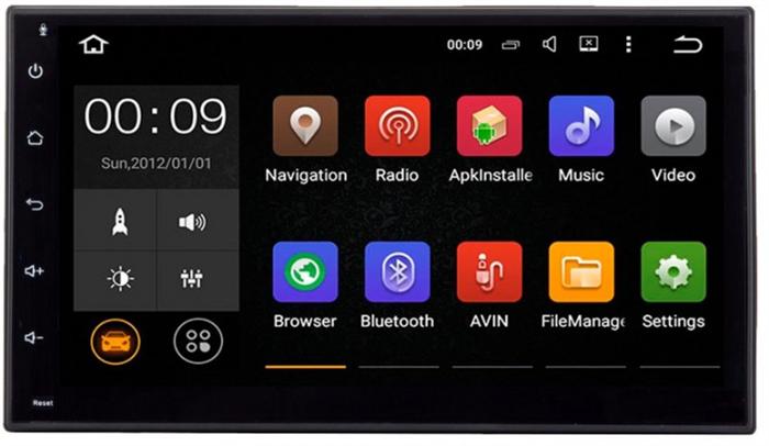 Штатная магнитола Roximo 4G RX-1002 Универсальная 2DIN (Android 6.0) - фото 11255