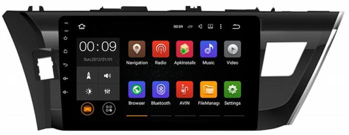 Штатная магнитола Roximo 4G RX-1103 для Toyota Corolla e160 (Android 6.0) - фото 11285