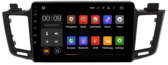 Штатная магнитола Roximo 4G RX-1110 для Toyota Rav4 (Android 10.0) - фото 11295