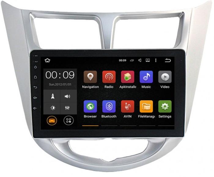 Штатная магнитола Roximo 4G RX-2003 для Hyundai Solaris (Android 6.0) - фото 11483