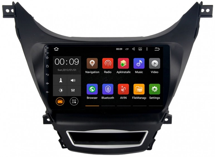 Штатная магнитола Roximo 4G RX-2006 для Hyundai Elantra 5 MD (Android 6.0) - фото 11493