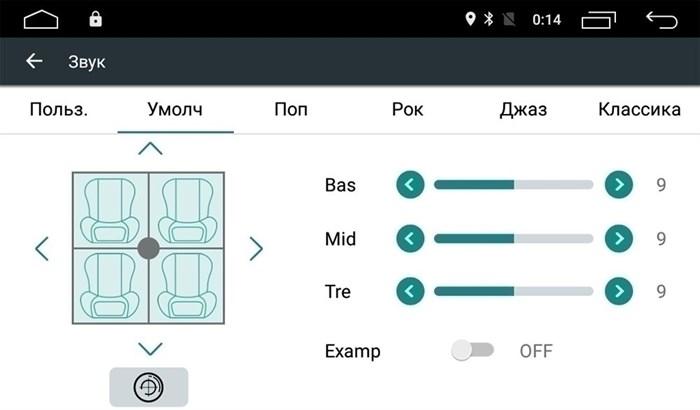 Штатная магнитола Roximo 4G RX-3715 для Volkswagen Golf 7 (Android 6.0) - фото 11715