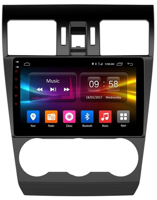 CarMedia OL-9511-MTK для Subaru Forester IV 2013-2014, Impreza IV 2012-2016, XV I 2011-2015 на Android  6.0 - фото 11802