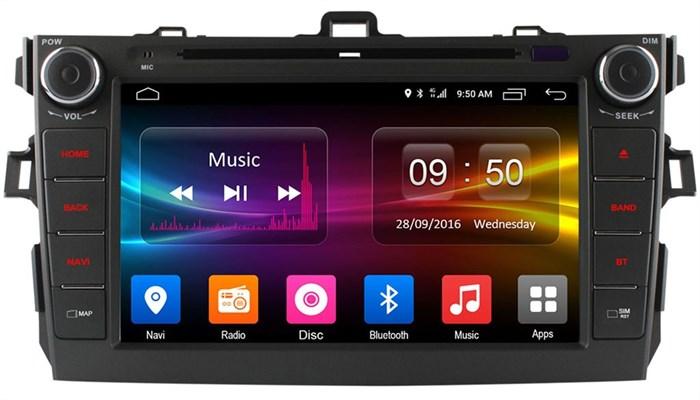 Штатное головное устройство CarMedia OL-8694 для Toyota Corolla X 2006-2013 на Android 6.0.1 - фото 11826
