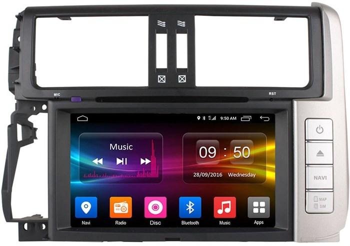 Штатное головное устройство CarMedia OL-8605 для Toyota LC Prado 150 2009-2013 на Android 6.0.1 - фото 11858