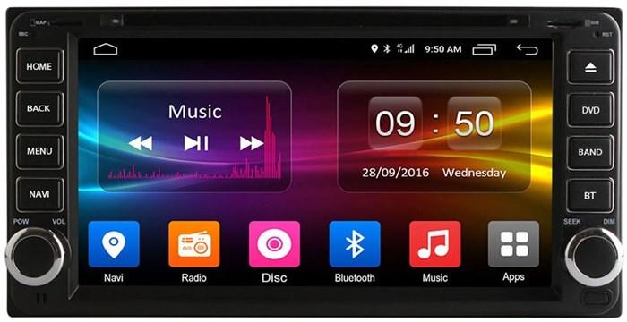 Штатное головное устройство CarMedia OL-7699 для Toyota на Android 6.0.1 (универсальная) - фото 11897