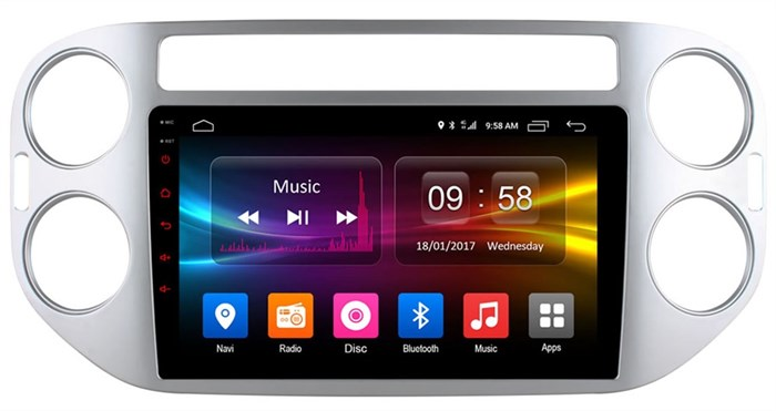 CarMedia OL-9908-MTK для Volkswagen Tiguan, Golf Plus на Android  6.0 - фото 11935
