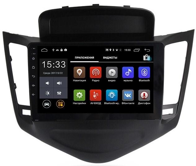 Штатная магнитола CarMedia MKD-9012 Chevrolet Cruze I 2009-2012 Android 7.1 - фото 12005