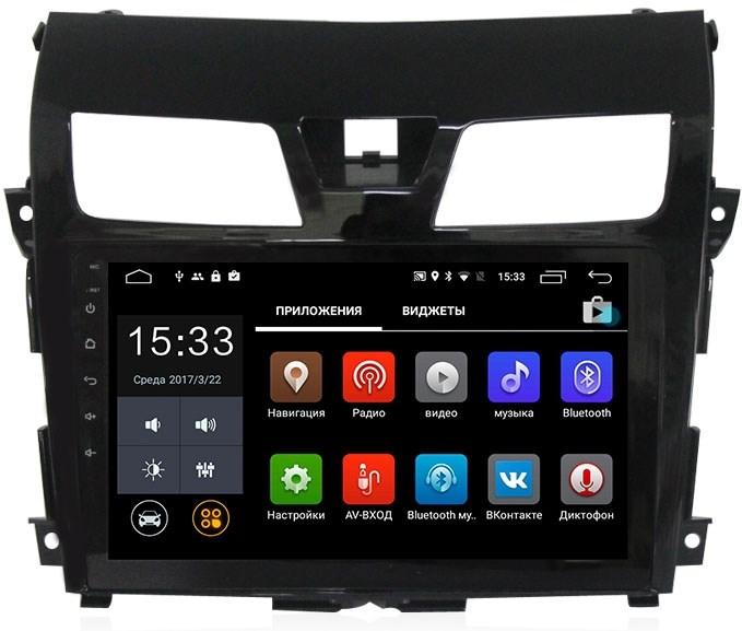 Штатная магнитола CarMedia MKD-1085 Nissan Teana III 2014-2017 Android 7.1 - фото 12096