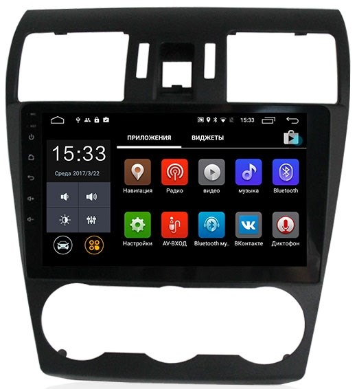 Штатная магнитола CarMedia MKD-9108 Subaru Forester IV, Impreza IV, XV I Android 7.1 - фото 12110