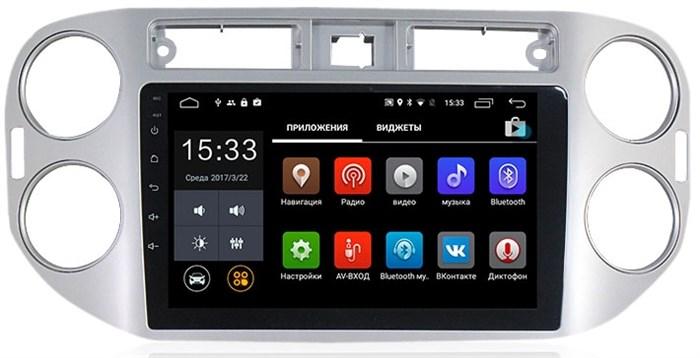 Штатная магнитола CarMedia MKD-1024 Volkswagen Tiguan, Golf Plus Android 7.1 - фото 12152