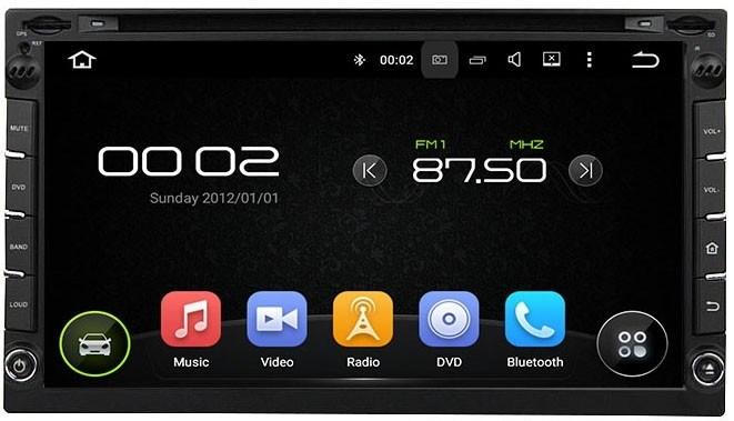 Штатная магнитола 2 DIN CarMedia KD-6952 Android 5.1 - фото 12197