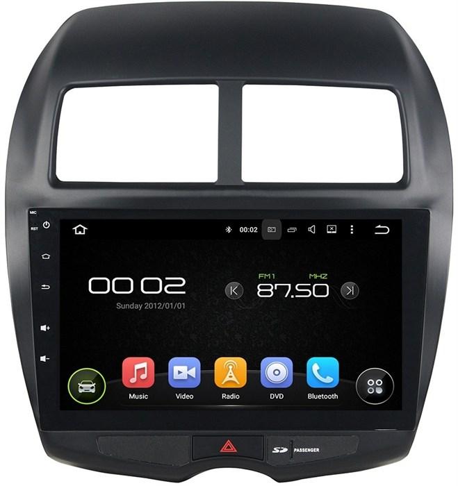 Штатное головное устройство CarMedia KD-1206 для Mitsubishi ASX Android 5.1 - фото 12318