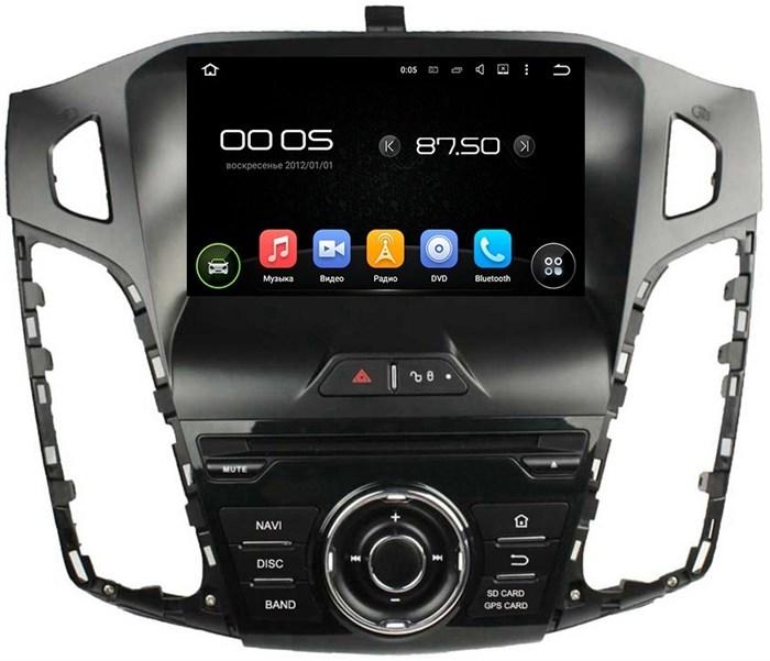Штатное головное устройство CarMedia KD-8018 Ford Focus III 2011-2016 дорестайл дорестайл Android 5.1 - фото 12464