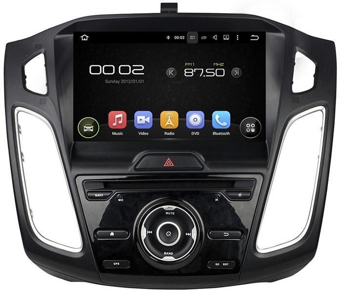 Штатное головное устройство CarMedia KD-9008 для Focus 3 2015+ Android 5.1 - фото 12474