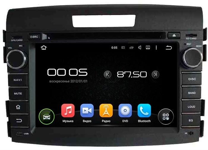 Штатное головное устройство CarMedia KD-7034 Honda CR-V IV 2012-2015 Android 5.1 - фото 12504