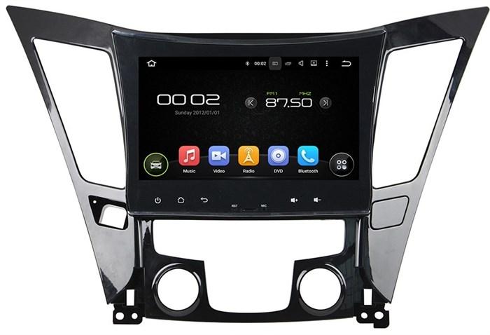 Штатное головное устройство CarMedia KD-9202 Hyundai Sonata 2010-2013 Android 5.1 - фото 12587