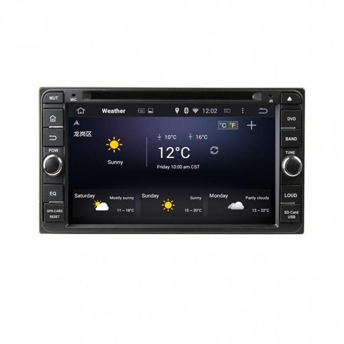 CarMedia KD-6957-P6 для Toyota универсальная на Android 9.0 - фото 126577