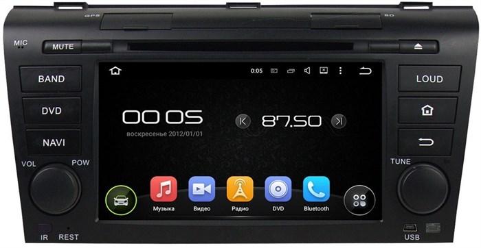 CarMedia KD-7003 Mazda 3 2003-2009 Android 5.1 - фото 12737