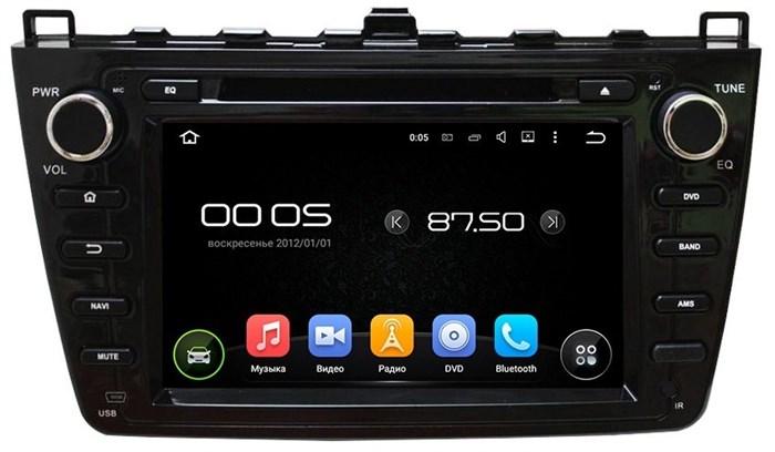 CarMedia KD-8001 Mazda 6 2007-2012 Black Android 5.1 - фото 12757