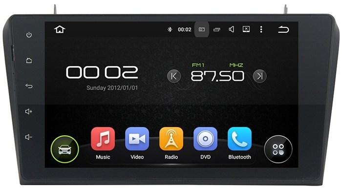 CarMedia KD-9204 Mazda 3 2003-2009 Android 5.1 - фото 12797