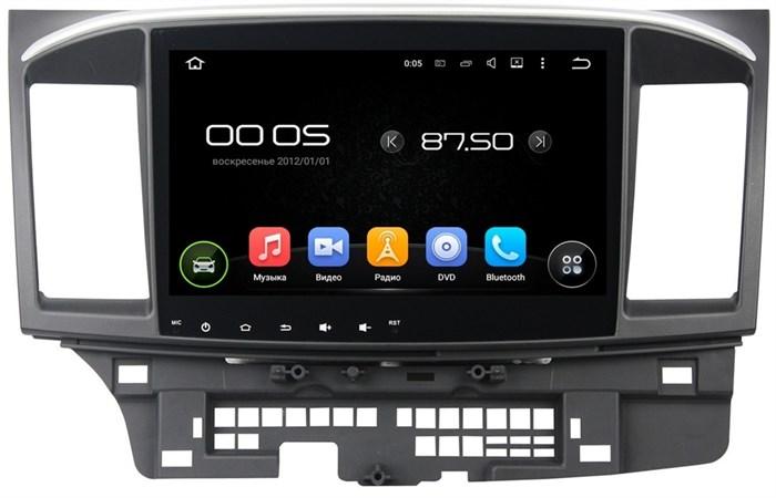 Штатное головное устройство CarMedia KD-1105 Mitsubishi Lancer X Android 5.1 - фото 12877