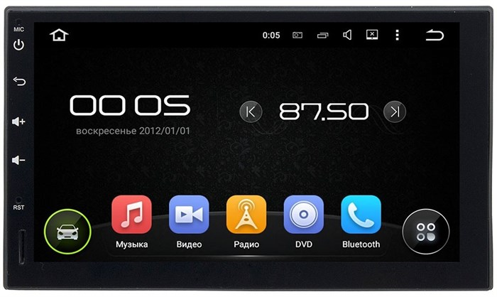 Штатное головное устройство CarMedia KD-7095 Nissan Juke, Note, Qashqai, Tiida, X-Trail, Almera Android 5.1 - фото 12964