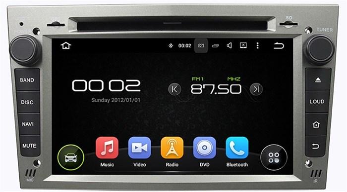 Штатное головное устройство CarMedia KD-7408-s Opel Astra H, Vectra С, Corsa D, Antara, Vivaro, Meriva, Zafira Android 5.1 - фото 13004
