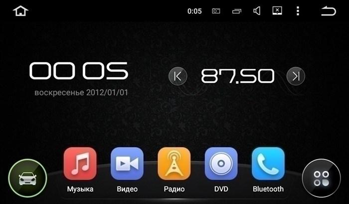 Штатное головное устройство CarMedia KD-7604 Peugeot 408 2012+, 308 2008-2014, RCZ 2010-2015 серый Android 5.1 - фото 13033