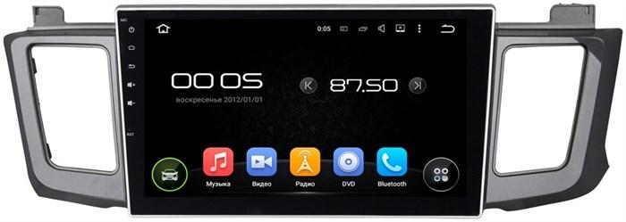 Штатное головное устройство CarMedia KD-1034 Toyota RAV4 2013+ Android 5.1 - фото 13211
