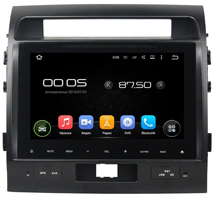 Штатное головное устройство CarMedia KD-9009 Toyota LC 200 2007-2015 Android 5.1 - фото 13340