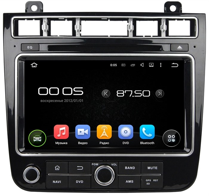 CarMedia KD-8122 Volkswagen Touareg 2015+ Android 5.1 - фото 13448
