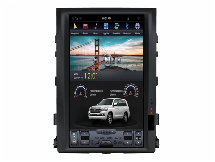 CarMedia ZF-1816H-DSP Tesla-Style для Toyota Land Cruiser 200 2007-2015 на Android 9.0 - фото 141633