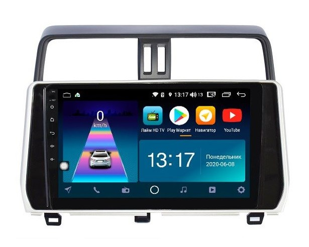 DayStar DS-7109Z с DSP + 4G SIM + CarPlay для Toyota Land Cruiser Prado 150 2017-2020 на Android 8.1.0 - фото 149834