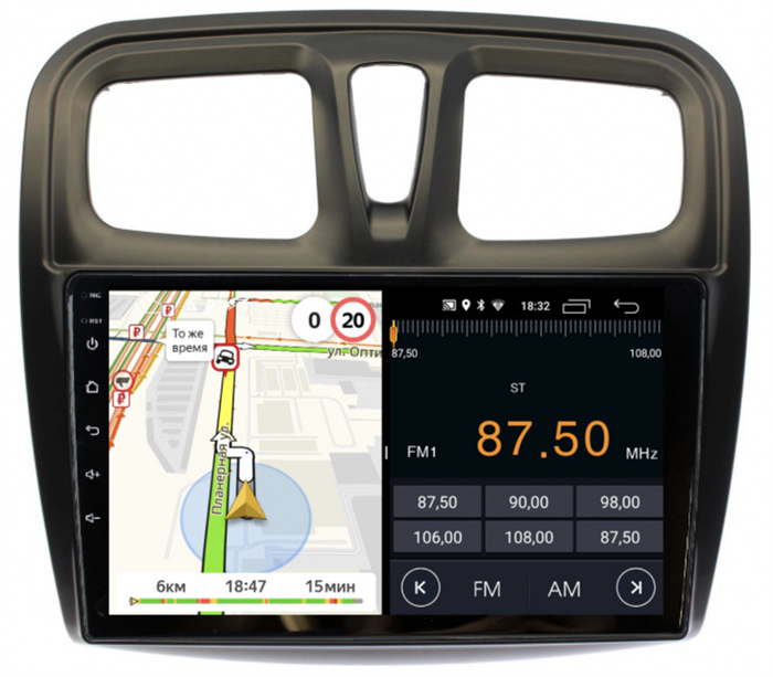 Parafar для Renault Logan II, Sandero II 2013-2020 на Android 8.1.0 (PF174LTX) - фото 154564