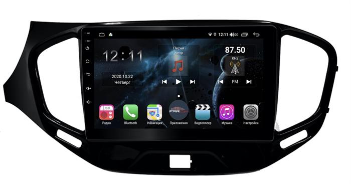 Farcar H1205R (S400) с DSP + 4G SIM для Lada Vesta 2015-2021 на Android 10.0 - фото 156197