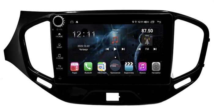 Farcar H1205RB (S400) с DSP + 4G SIM для Lada Vesta 2015-2017 на Android 10.0 c кнопками - фото 178436