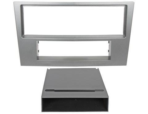 Переходная рамка Incar ROP-N01 для Opel Astra-H 04+ 1DIN silver - фото 185430