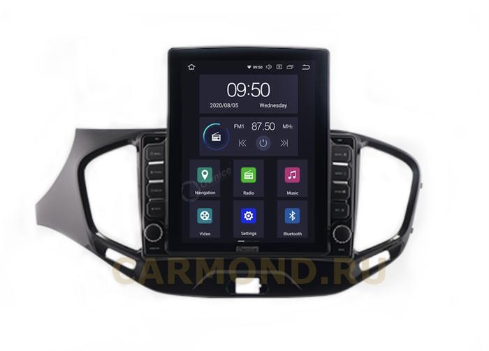 CarMedia OL-9061-2D-HL для Lada Vesta 2015-2021 на Android 10.0 - фото 201554