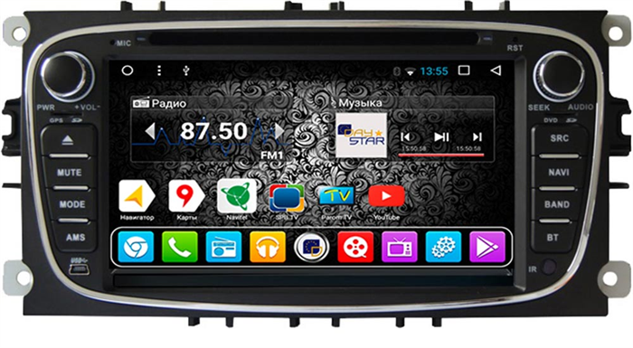 DayStar DS-7012HD для Ford Focus 2 на Android 9.0 - фото 21303