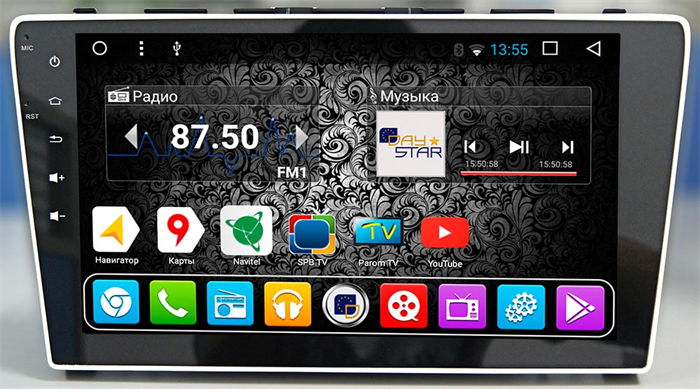 DayStar DS-8048HB для Honda CR-V 2006+ на Android 9.0 - фото 21327
