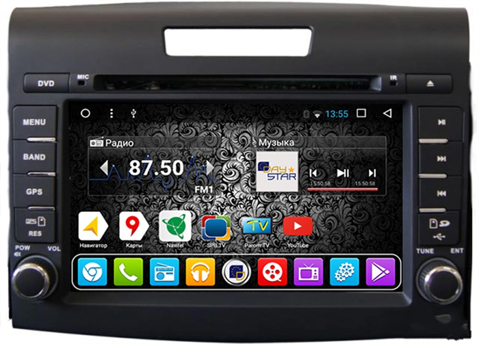DayStar DS-7073HD для Honda CR-V 2012+ на Android 9.0 - фото 21349