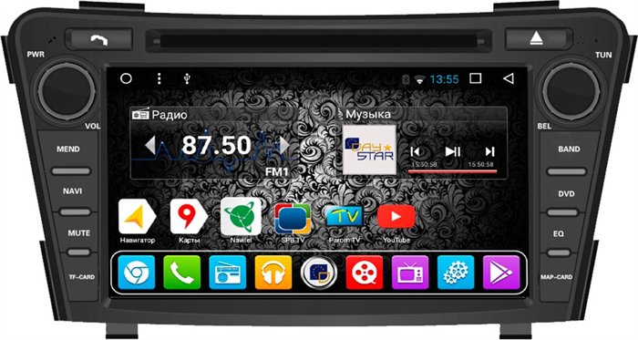 DayStar DS-7097HD для Hyundai i40 2011-2017 на Android 9.0 - фото 21457