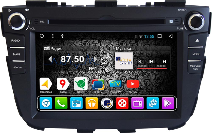 DayStar DS-7029HD для KIA Sorento 2012-2019 на Android 9.0 - фото 21589