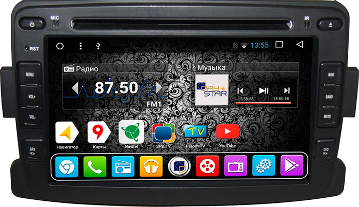 DayStar DS-7088HD для Renault Duster 2010-2018 на Android 9.0 - фото 21685
