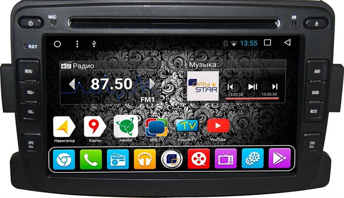 DayStar DS-7088HD для Renault Kaptur 2016+ (Кондиционер) на Android 9.0 - фото 21715