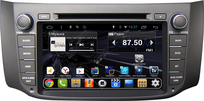 DayStar DS-7014HD для Nissan Sentra 2014-2018 на Android 9.0 - фото 21829