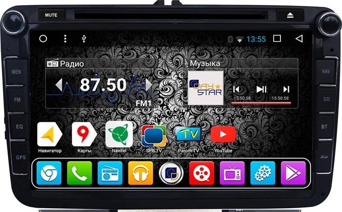 DayStar DS-7080HD для Skoda Universal на Android 9.0 - фото 21851